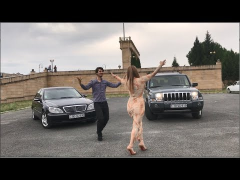 ALISHKA Танцует С Красавицей Из Азербайджана Чеченский Ловзар RAINA Lezginka 2020 Чеченская Лезгинка