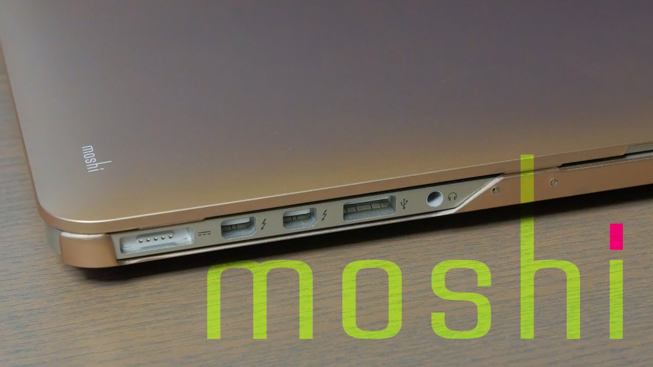 Moshi iGlaze - 13-inch MacBook Pro - YouTube b074c57162