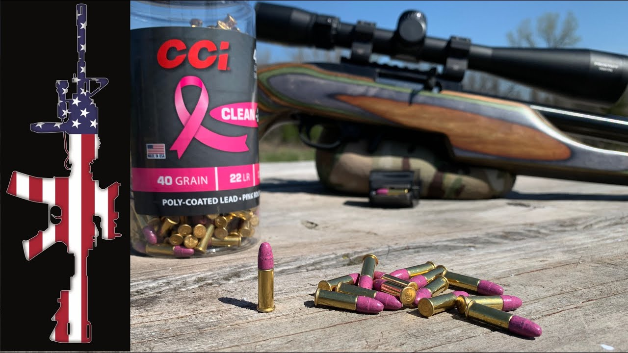 CCI Clean .22 lr (Pink) - The Future Is Here