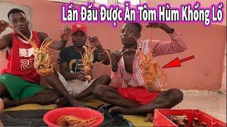Quanglinhvlogs || Lần Đầu Anh Da Đen Được Ăn Tôm Hùm Khổng Lồ