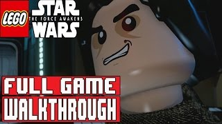 LEGO Star Wars The Force Awakens Gameplay Walkthrough Part 1 FULL GAME (1080p PS4) - No Commentary