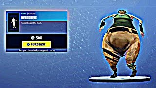 Overdrive Fortnite Emote (BASS BOOSTED EARRAPE) Meme