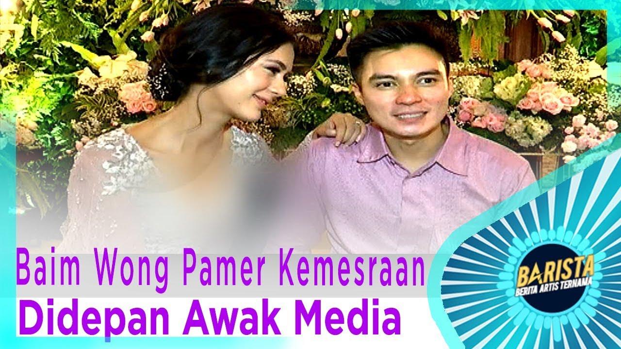 Baim Wong Pamer Kemesraan Didepan Awak Media - BARISTA EPS 82 ( 1/3 )