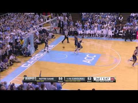 UNC Men's Basketball: Highlights vs. Notre Dame