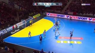 Mondial 2017 M6 1/8e - France 31-25 Islande [2017-01-21]