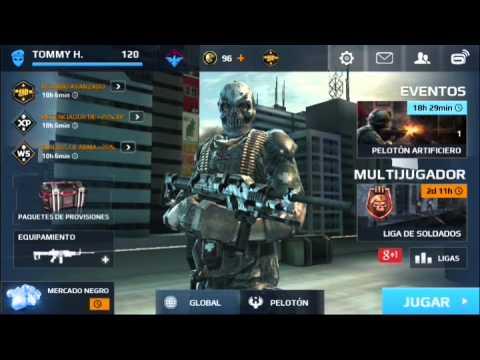 Modern Combat 5 hack desbloquear nuevas armas