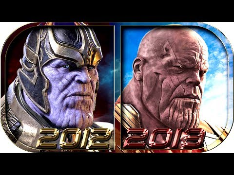 EVOLUTION of THANOS in Movies Cartoons TV 1998-2019 😡 Avengers Endgame Thanos death defeat scene