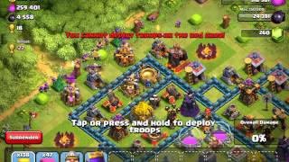 Clash of Clans Gameplay CRAZY LOOT BASE (BARCH) upload clash of clans now? Or stick with the madden