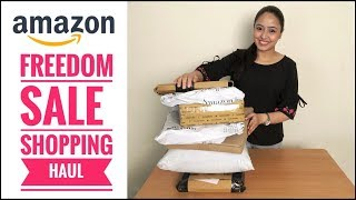 Freedom Sale Haul | Amazon Sale Shopping Haul | Unboxing & Product Review | Her Fab Way