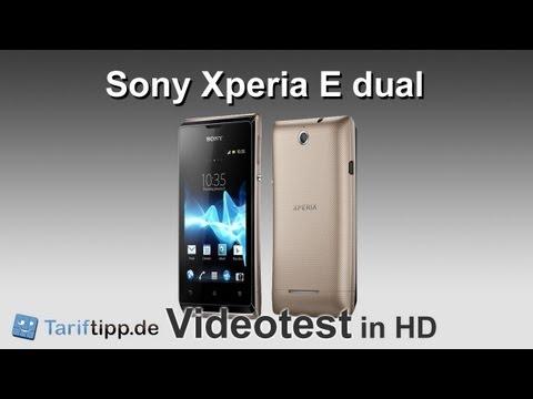 Sony Xperia E dual   Test in HD (deutsch)