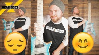 The Ups and Downs of MULTISCALE Guitars   GEAR GODS