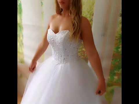 Sequin Deb Dress Wedding Gown