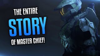 The Entire Story Of Master Chief! (Birth To Halo Infinite)