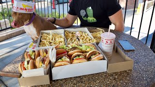 WHAT BODYBUILDERS EAT AT IN N OUT!