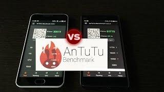 Xiaomi mi4c VS Meizu m2 mini Antutu Benchmarks
