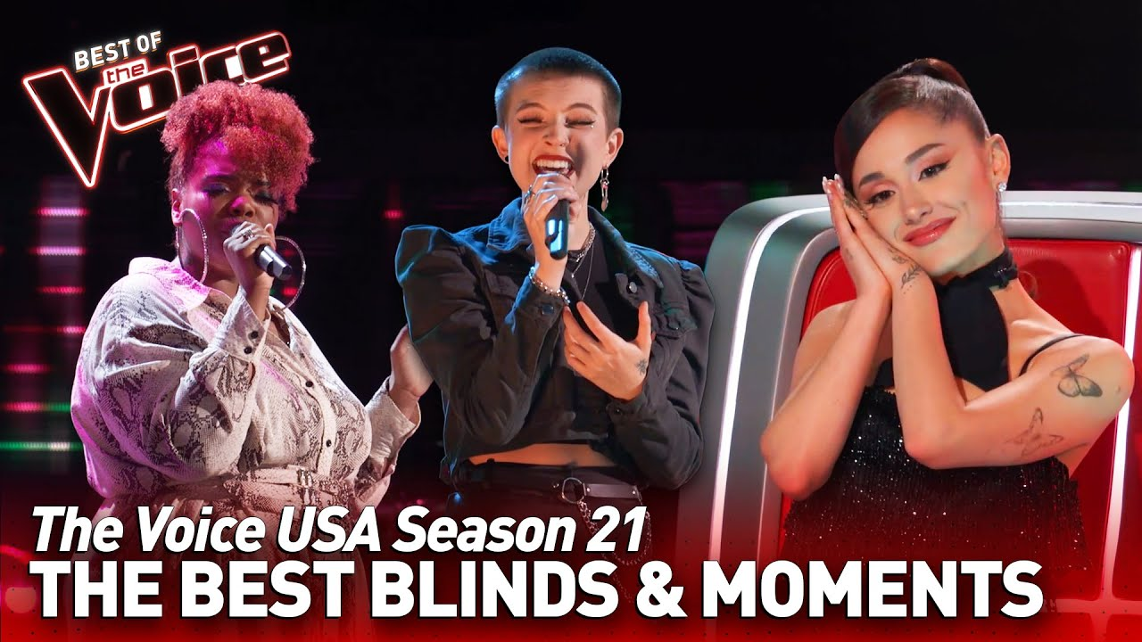 Download The Voice USA: The best Blind Auditions & Moments of season 21   Top 10