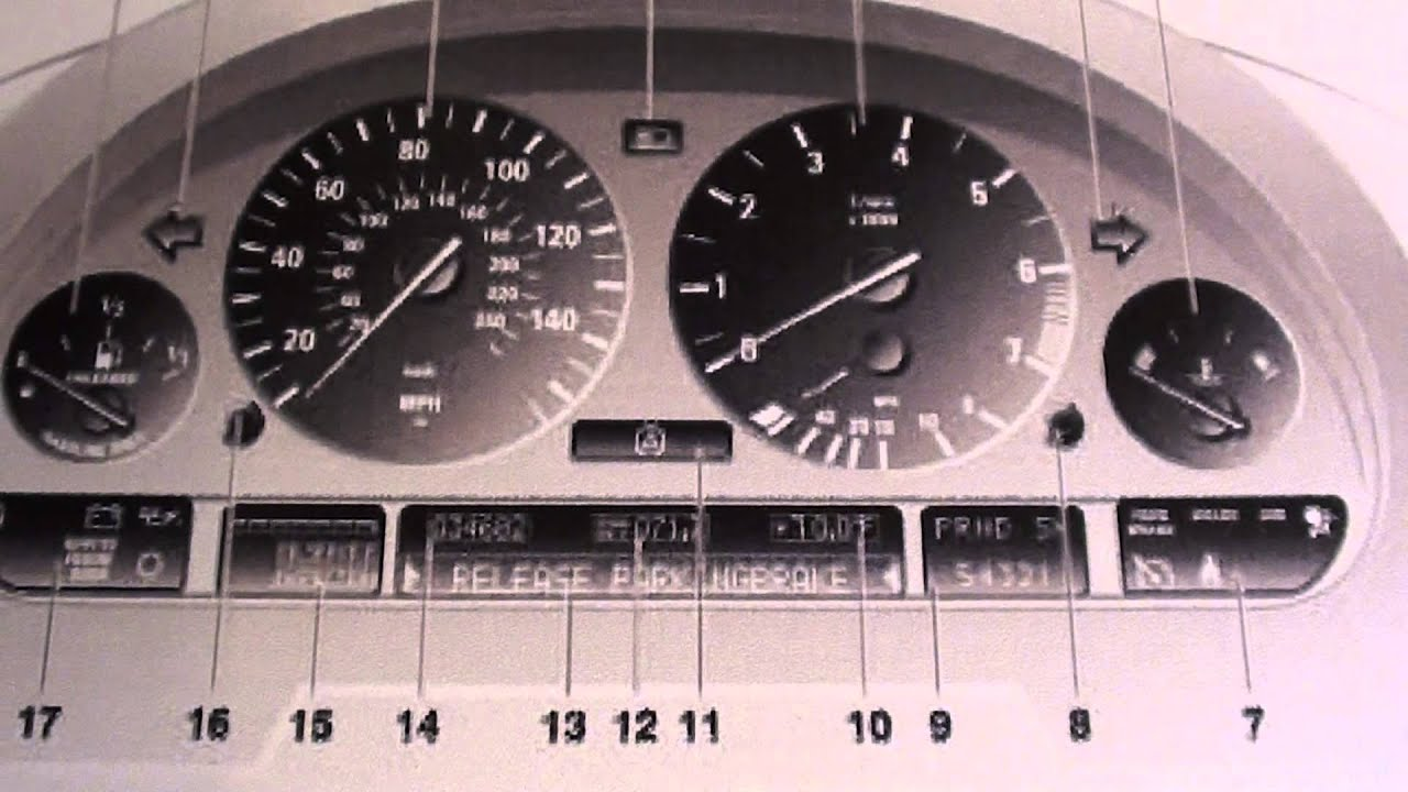 Bmw X5 Dashboard Warning Lights