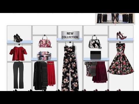 Visual Merchandising display using power point