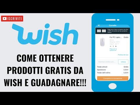 Come Avere Prodotti GRATIS Con Wish [CODICE SCONTO 2020]!!!