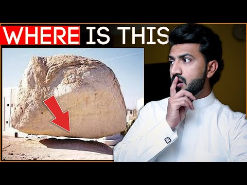 Miracle Of Stone In The Air ? Saudi Arabia