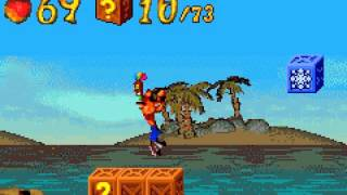 [TAS] GBA Crash Bandicoot 2: N-Tranced by wwmarx in 34:19.83