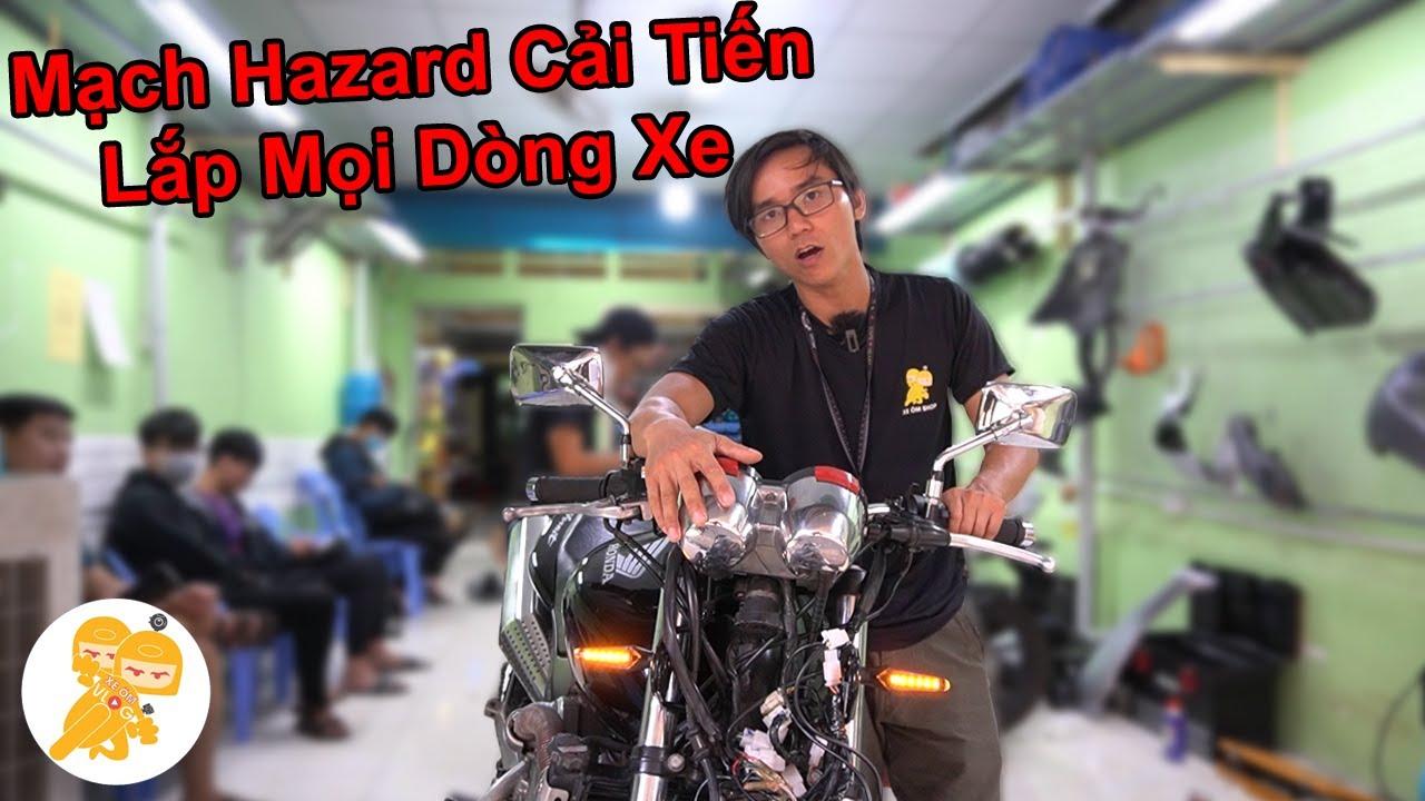 Honda Honet 650 DỌN ĐIỆN XONG Up Luôn Hazard 2.0 ĐỘC QUYỀN Của Xe Ôm Shop - Xe Ôm Shop