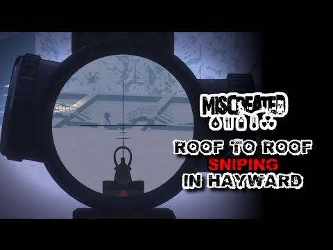 Crazy Roof To Roof Sniping In Hayward And 2 Squad Wipes - Miscreated EP 131.