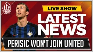 INTER Boss Rules Out PERISIC To MANCHESTER UNITED! MAN UTD Transfer News