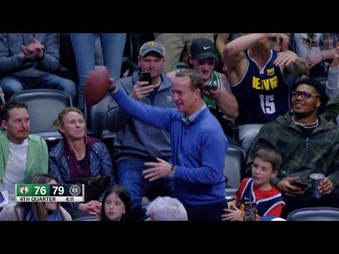 Peyton Manning Shows He Can Still Throw It Deep During Nuggets Game