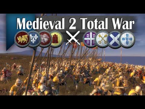 Far From Over - Medieval 2 Total War (4v4 Online Battle #258)