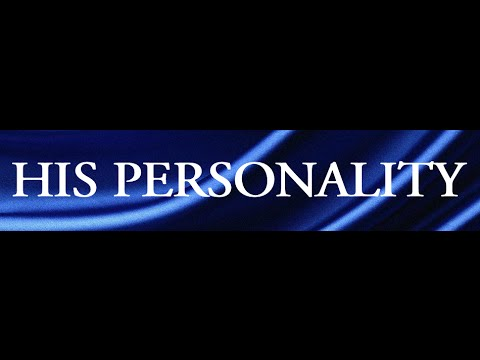 """Personality of the Holy Spirit"""