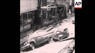 CAN150 AFTERMATH OF ALASKA EARTHQUAKE, SCENES OF DESTRUCTION