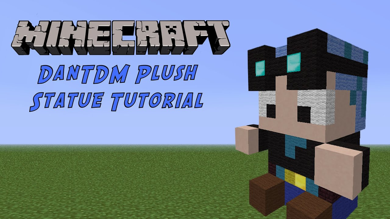 957658740daa Minecraft Tutorial  DanTDM (Blue Hair) Plush - YouTube