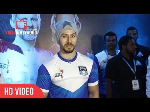 Tiger Shroff At Indian Premier Futsal League 2017 | Viralbollywood