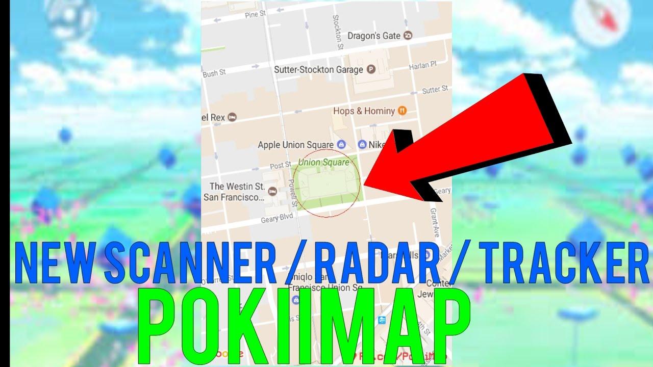 Pokémon Go - BRAND NEW POKEMON GO SCANNER/ RADAR / TRACKER / UPDATE 0 57 4  *WORKING MARCH 2017*