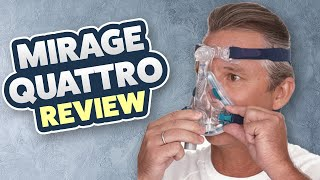 ResMed Highest Reviewed Mask Of All Time Mirage Quattro Full Face CPAP Mask