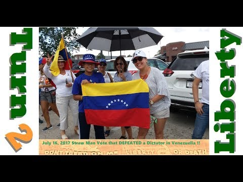 Venezuelans Vote Against Dictatorship and Communism 20170716b