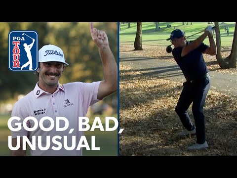 Phil's driver from the woods, Homa's winning eagle hole-out and Na's cane putter
