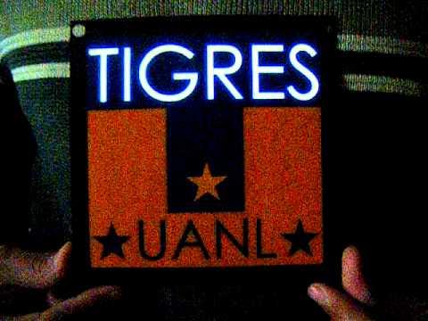 Escudos luminosos Rayados, Tigres X Media Monterrey