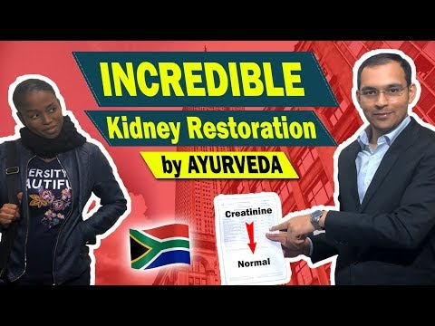 Increadible Treatment By Dr Puneet Dhawan | Restoration Of African's Kidney In Ayurveda