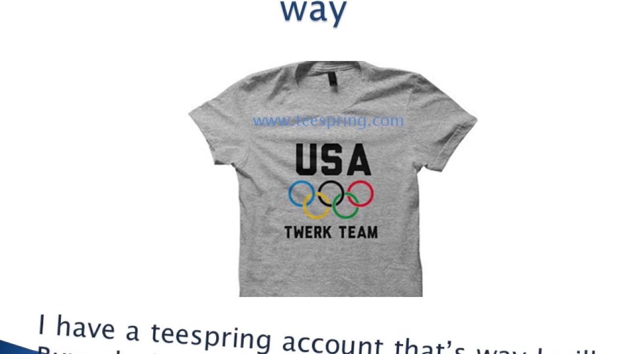 Shirt design video - T Shirt Design Video Teespring