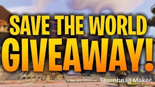 *Huge 130 and legacy Giveaway * Fortnite Save The World (Road to 700 Subs)