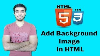 How to add background image in html | html tutorial for beginners