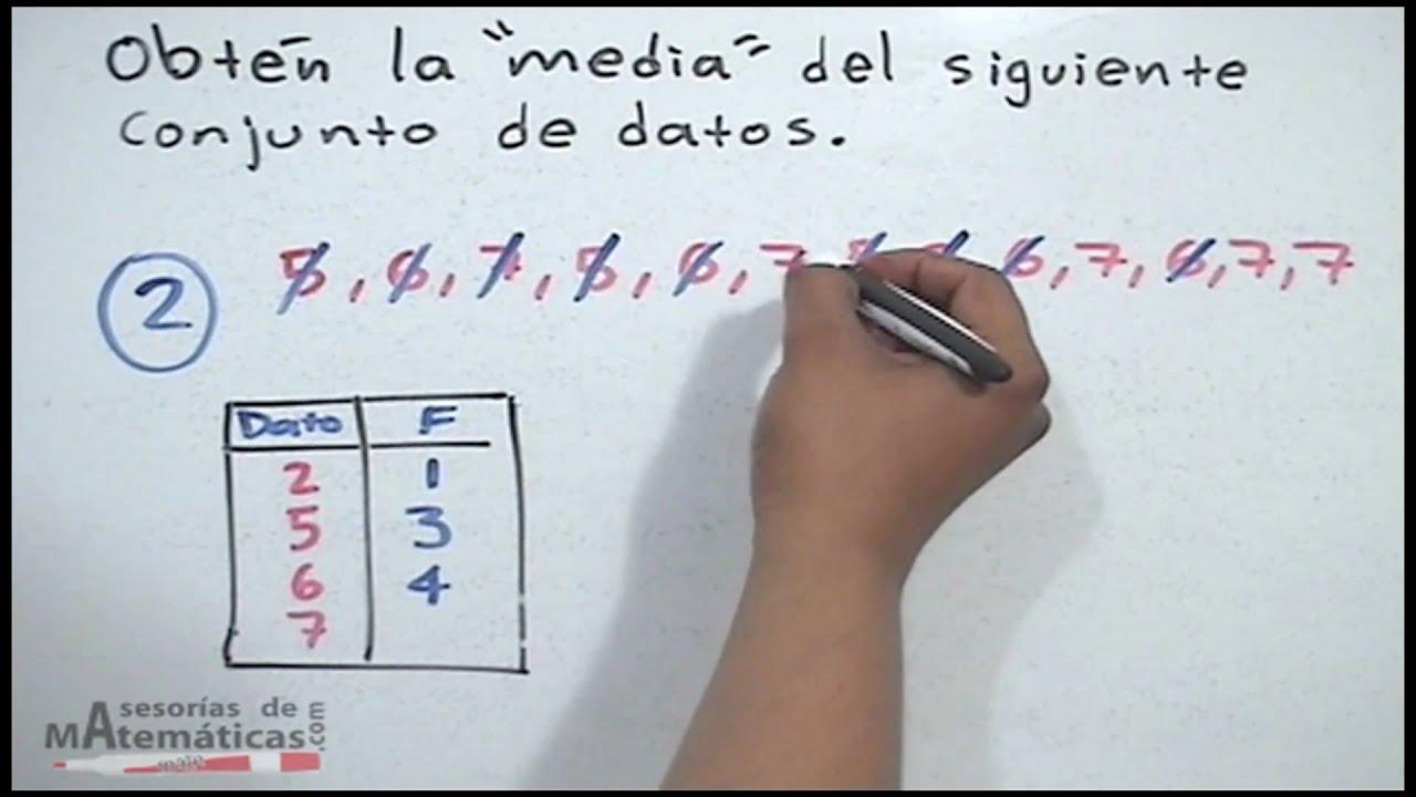 Media aritmética definición