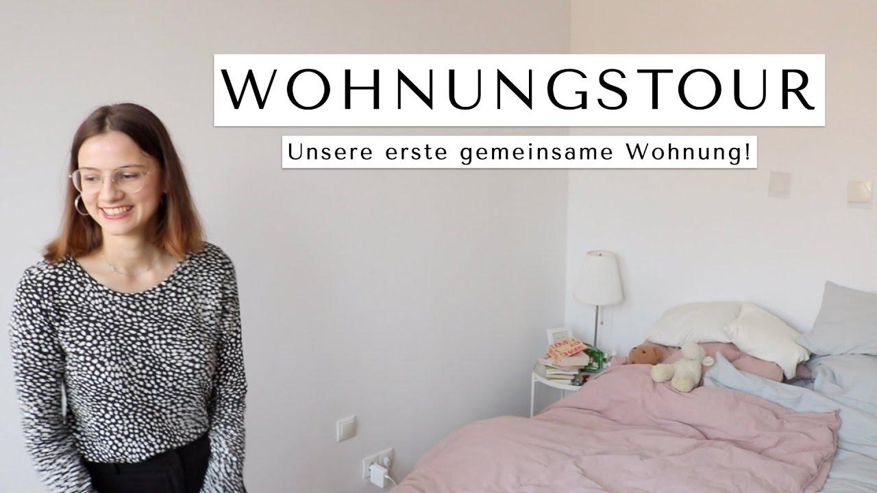 WOHNUNGSTOUR! Unsere erste gemeinsame Wohnung 🏠 - YouTube