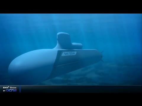Preview of the DCNS SMX OCEAN heavy SSK based on Barracuda SSN Submarine
