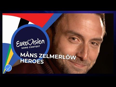 Måns Zelmerlöw - Heroes - Eurovision: Europe Shine A Light