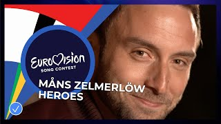 Måns Zelmerlöw - Heroes - Eurovision: Europe Shine A Light