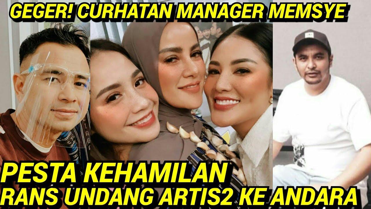 NAGITA RAYAKAN KEHAMILAN BARENG GANK ARTIS, MANAGER MEMSYE CURHAT DIOMELAN GARA2 LUPA MANDAT TIETA?!