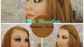 Mint Chocolate Makeup Look Thumbnail